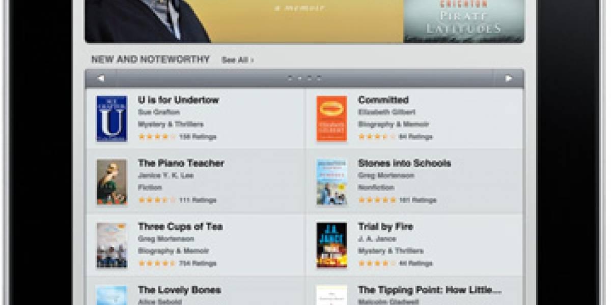 Novedades sobre el iPad y la iBookstore