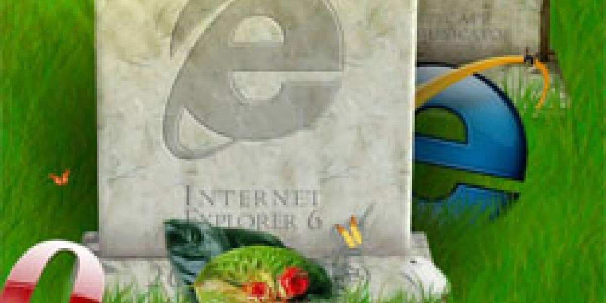IE6: Nunca más