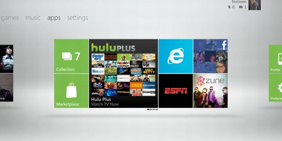 Detalles de las recientes actualizaciones de la interfaz de Xbox 360