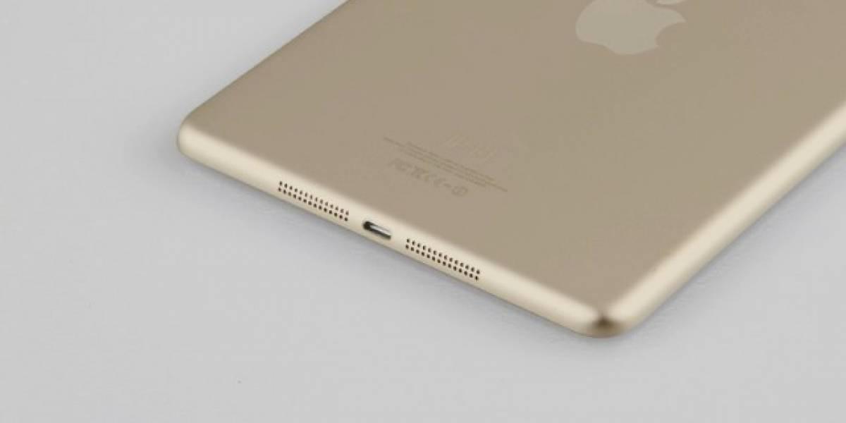 Revelan supuesto iPad Mini color dorado y con Touch ID