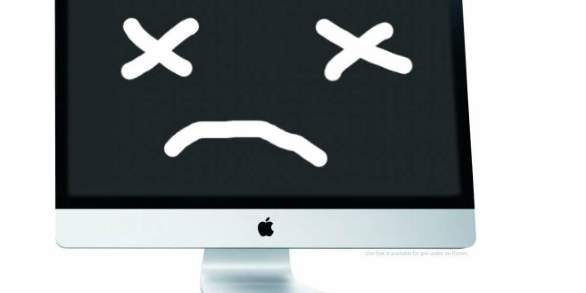 Muchos iMacs de 27 pulgadas fallados [AppleWayer]