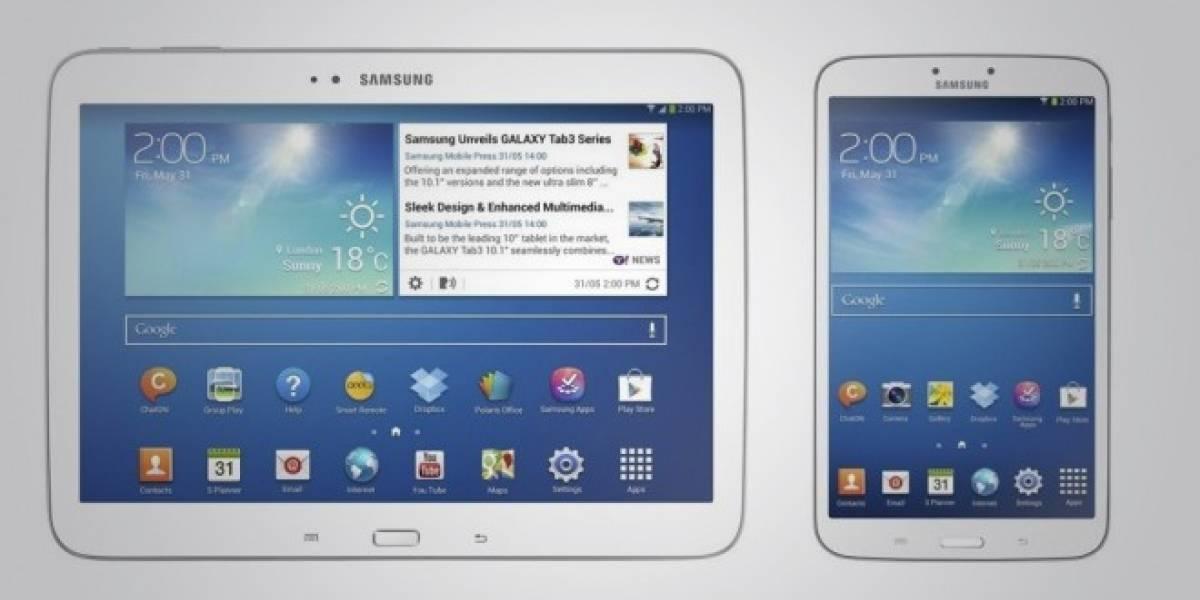 Samsung dota a las nuevas Galaxy Tab 3 con procesador Intel