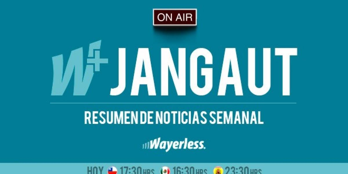 Un nuevo viernes resumiendo la semana en el W Jangaut