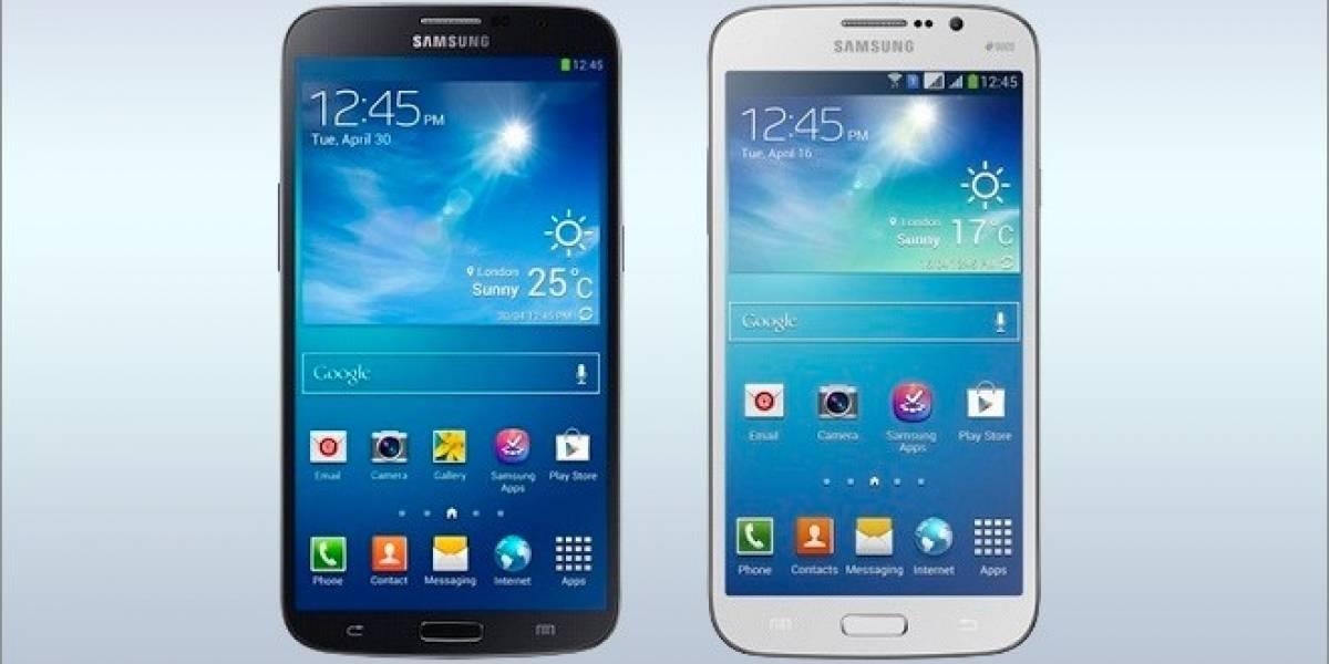 Samsung anuncia sus nuevos Galaxy Mega de 5.8 y 6.3 pulgadas