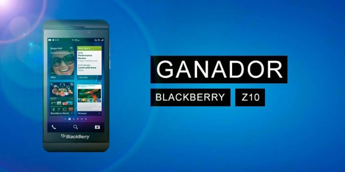 El ganador del BlackBerry Z10 de Wayerless es...