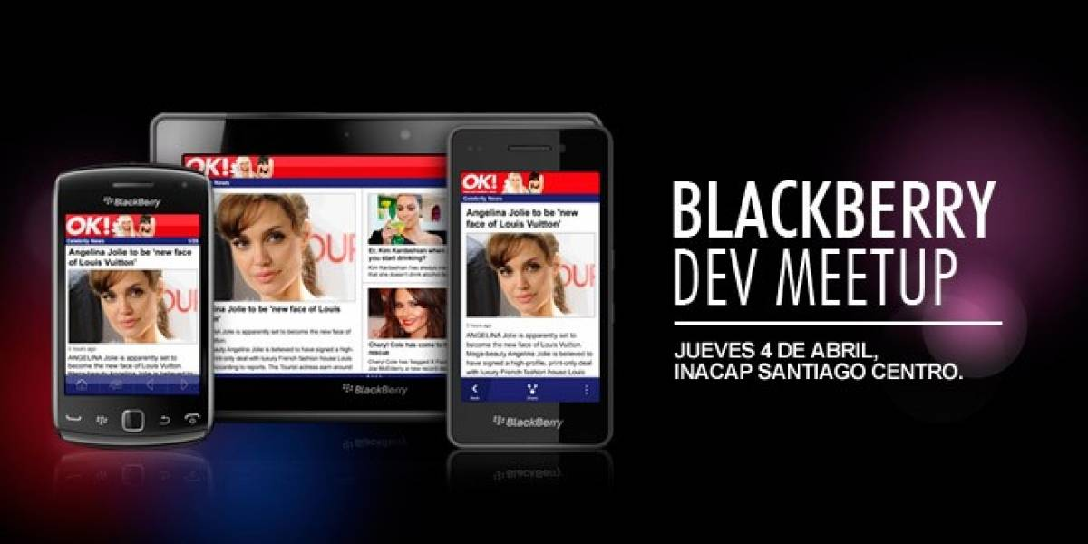 Súmate al BlackBerry Dev Meetup en Santiago este jueves