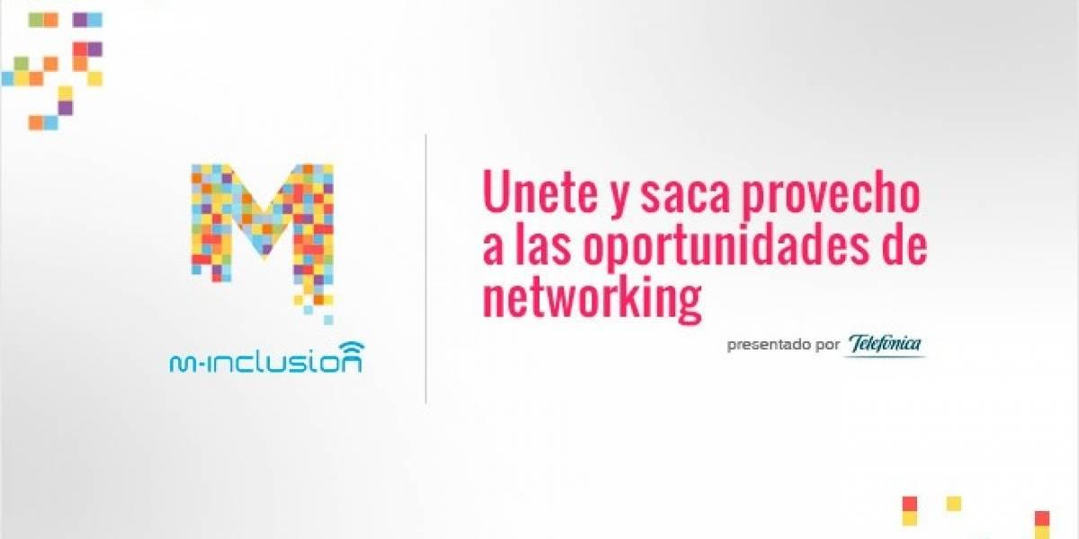 Únete a la comunidad M-Inclusión y saca provecho de las oportunidades de networking profesional online