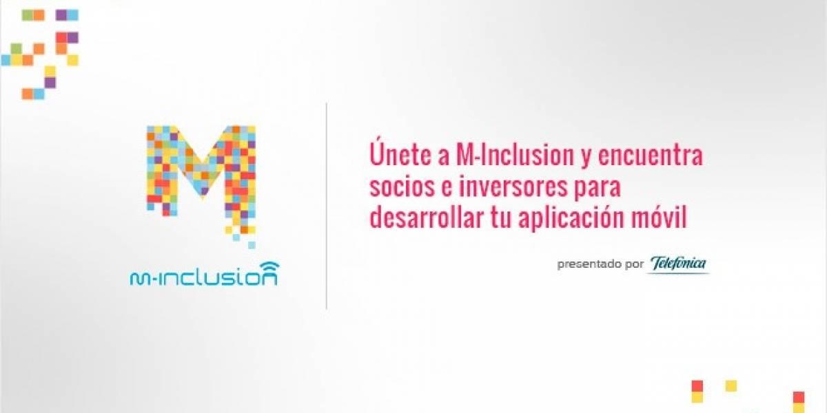 Únete a M-Inclusion y encuentra socios e inversores para desarrollar tu aplicación móvil