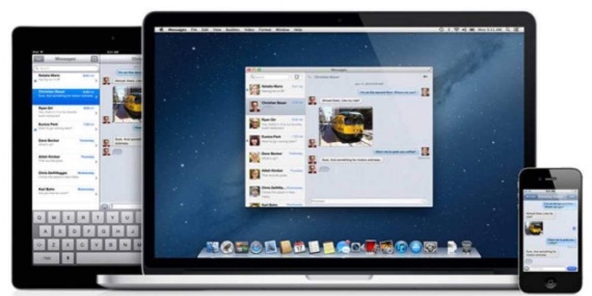 Apple asegura que no puede intervenir iMessage