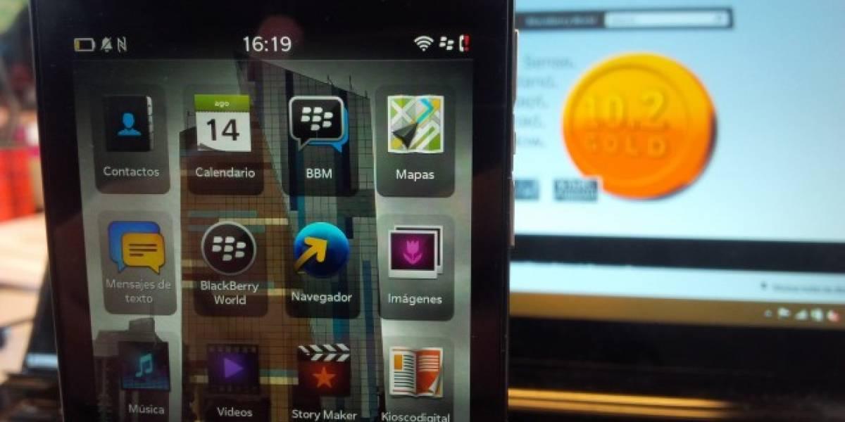 BlackBerry entrega a desarrolladores el SDK Gold de BB 10.2