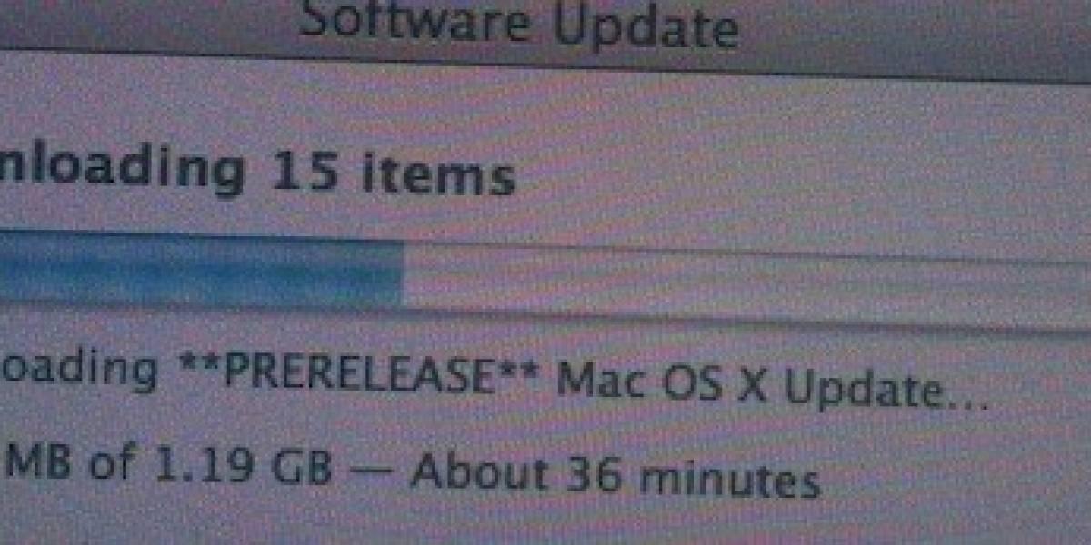 Mac OS X 10.6.3 a la vuelta de la esquina