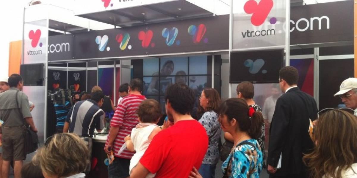 VTR Móvil presenta intermitencias en su servicio