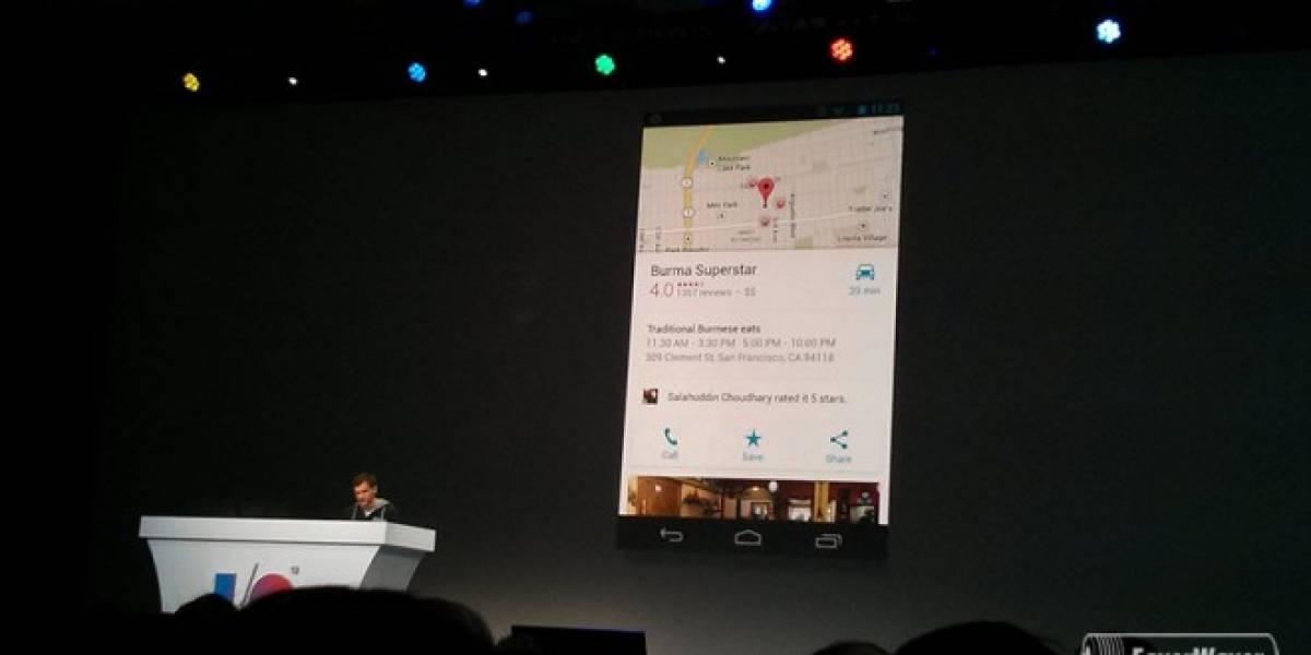 Google renueva su cliente de Google Maps para móviles #IO13