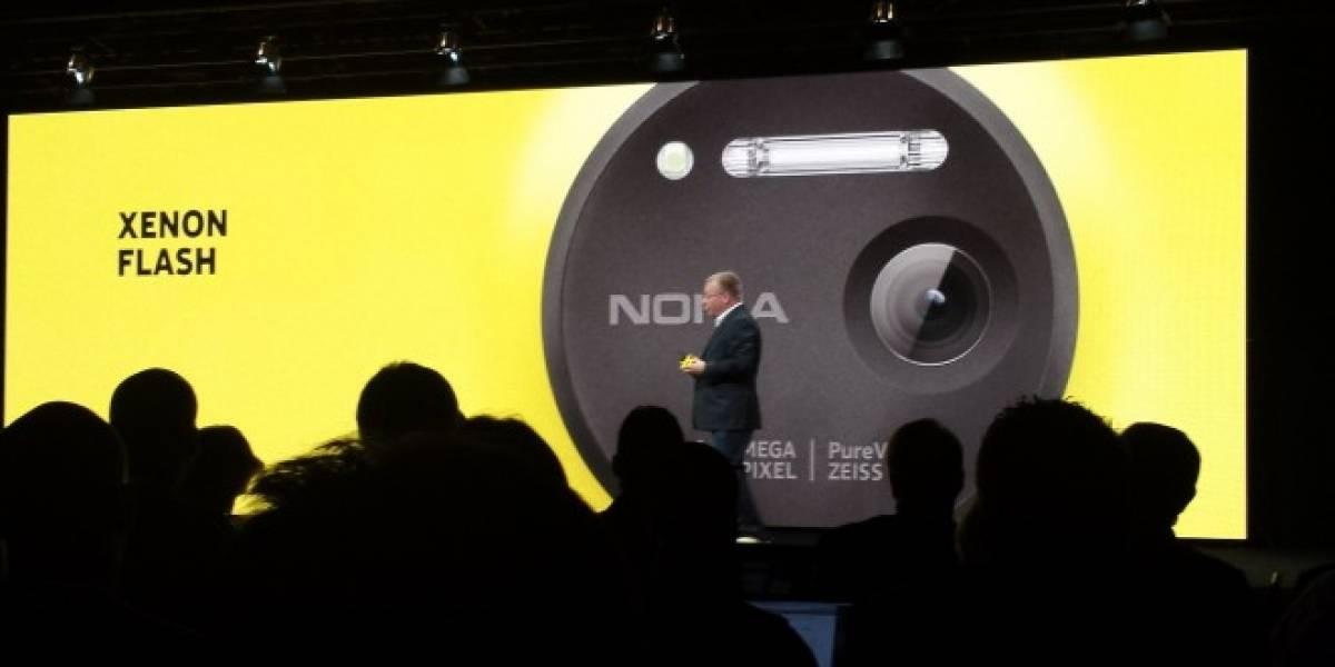 Nokia presenta el Lumia 1020, el primer Windows Phone con cámara de 41 MP