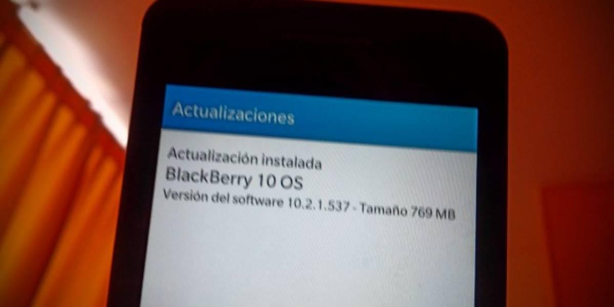 BlackBerry 10 se actualiza a la versión 10.2.1 con importantes novedades
