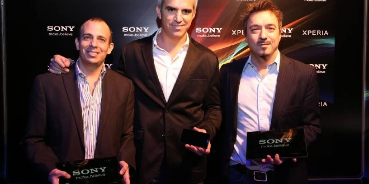 Sony presentó la tablet Xperia Z y el smartphone ZL en Argentina