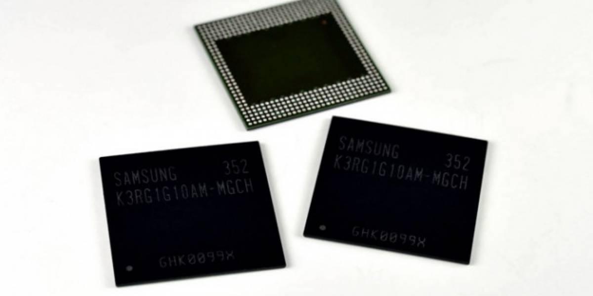 Samsung podría revelar móviles con 4GB de RAM en 2014