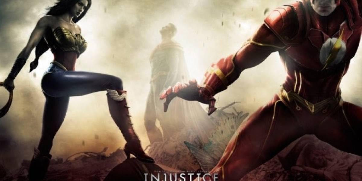 Injustice: Gods Among Us no tendrá la violencia de Mortal Kombat