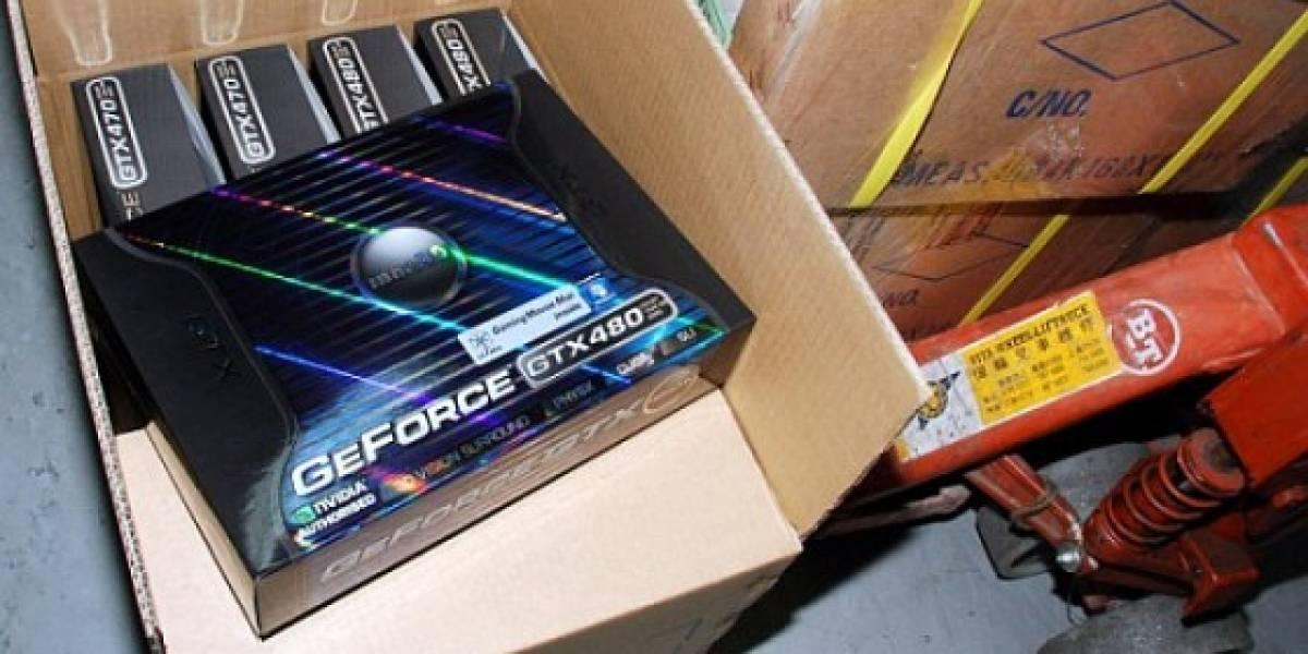 Nvidia Geforce GTX 470 y GTX 480: Consumos