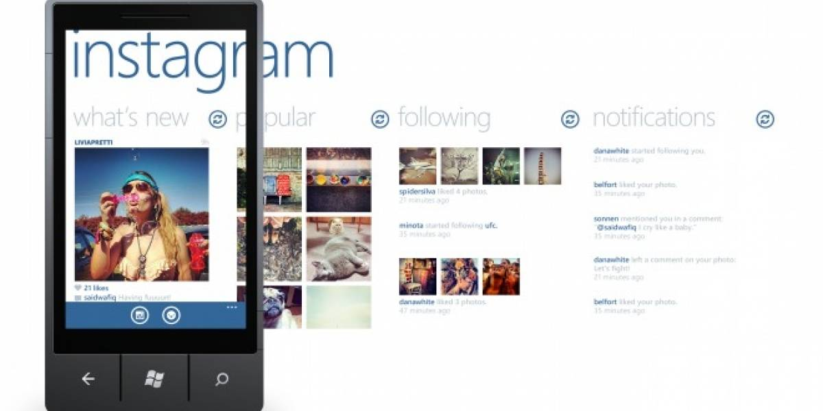 Instagram y Waze finalmente disponibles para Windows Phone 8