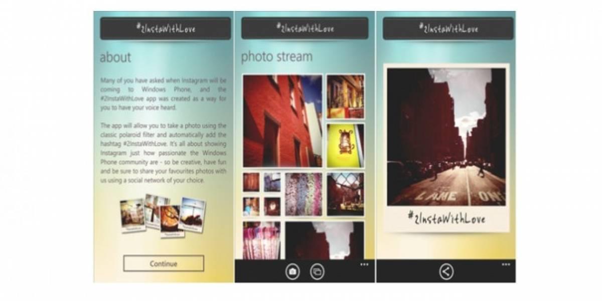 Nokia presiona por la llegada de Instagram a Windows Phone con una aplicación