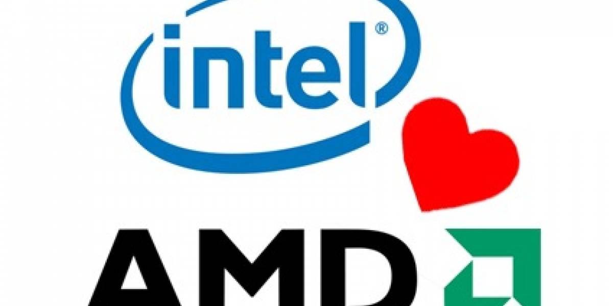 Intel y AMD entierran sus diferencias bajo 1.250 millones de dólares