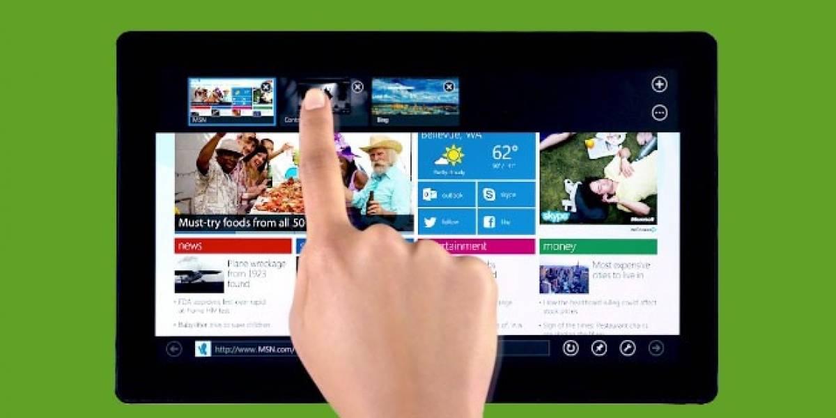 Conoce todo el potencial del nuevo Internet Explorer diseñado para Windows 8