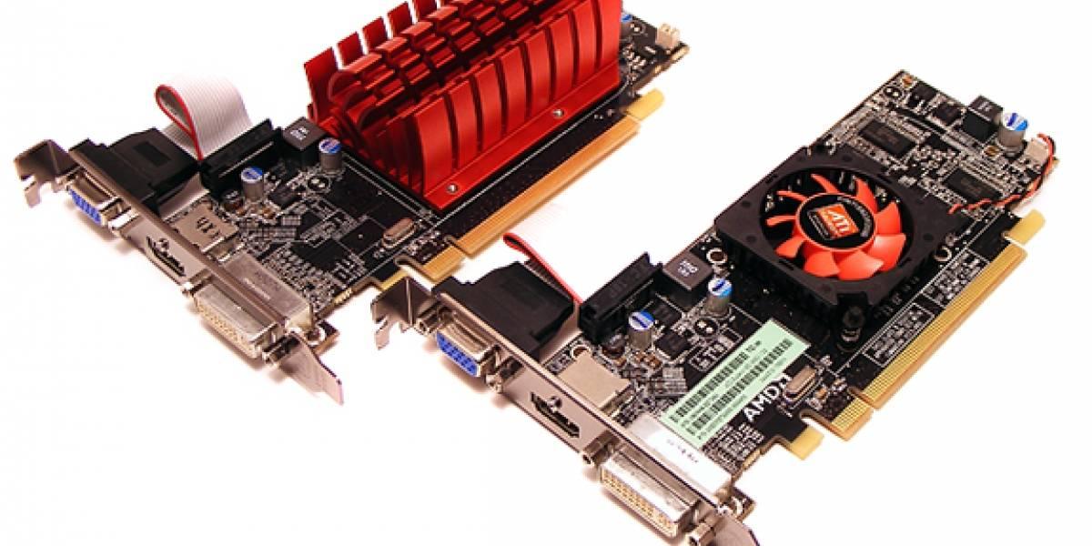 Dos AMD ATI Radeon HD 5450