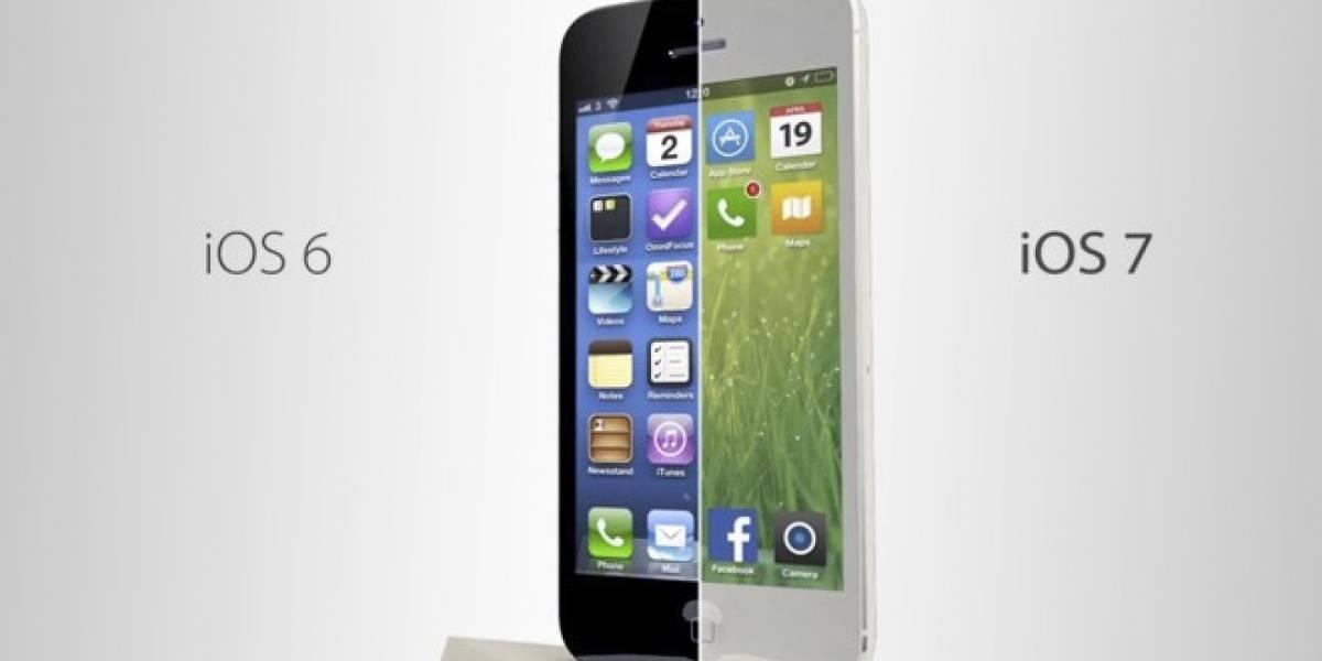 Revelan detalles del nuevo diseño que se hará presente en iOS 7