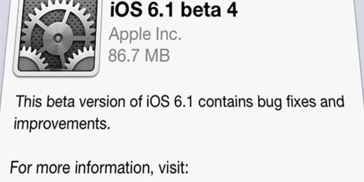 En menos de una semana iOS 6.1 ya alcanza al 22% de los usuarios de iPhone y iPad