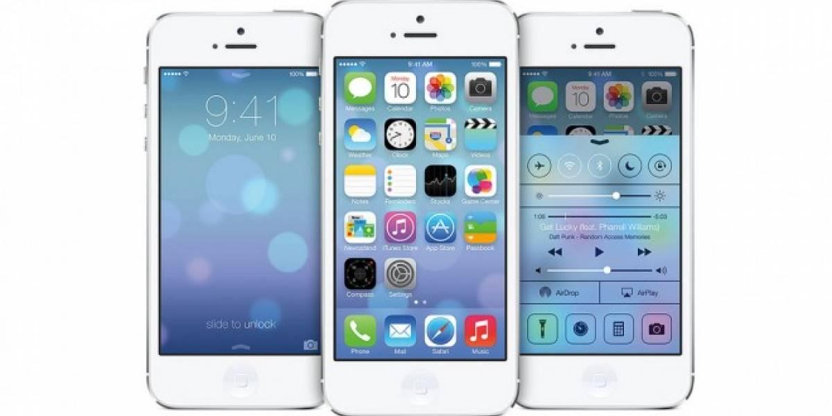 iOS 7.1 en su versión final saldría muy pronto