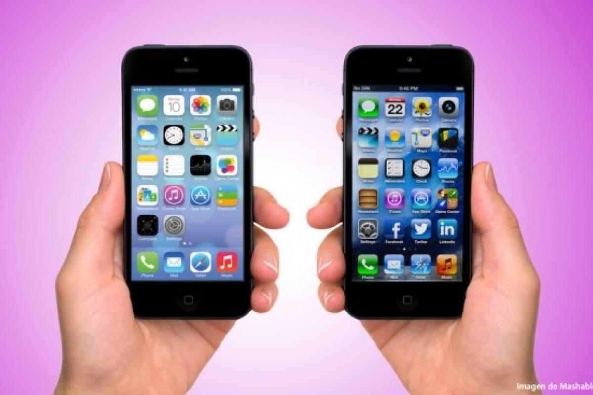 iOS 7 está en el 74% de los equipos Apple compatibles
