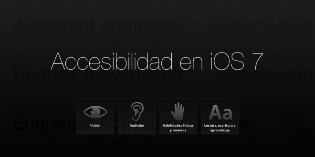 Un vistazo a las opciones de accesibilidad en iOS 7