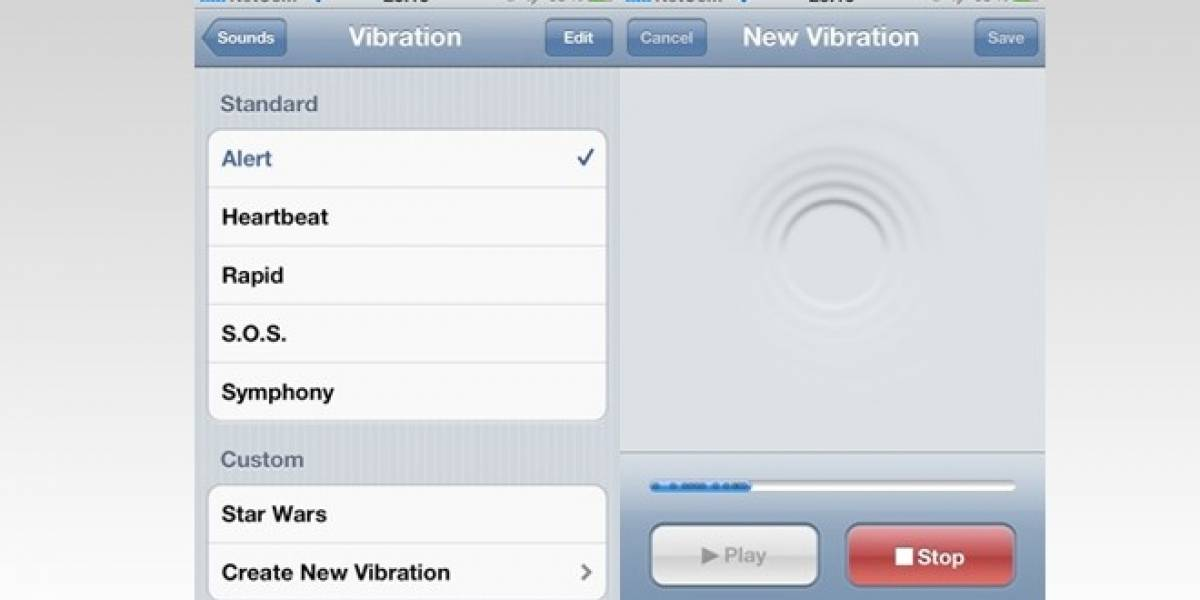 Cómo crear alertas vibratorias personalizadas en iOS