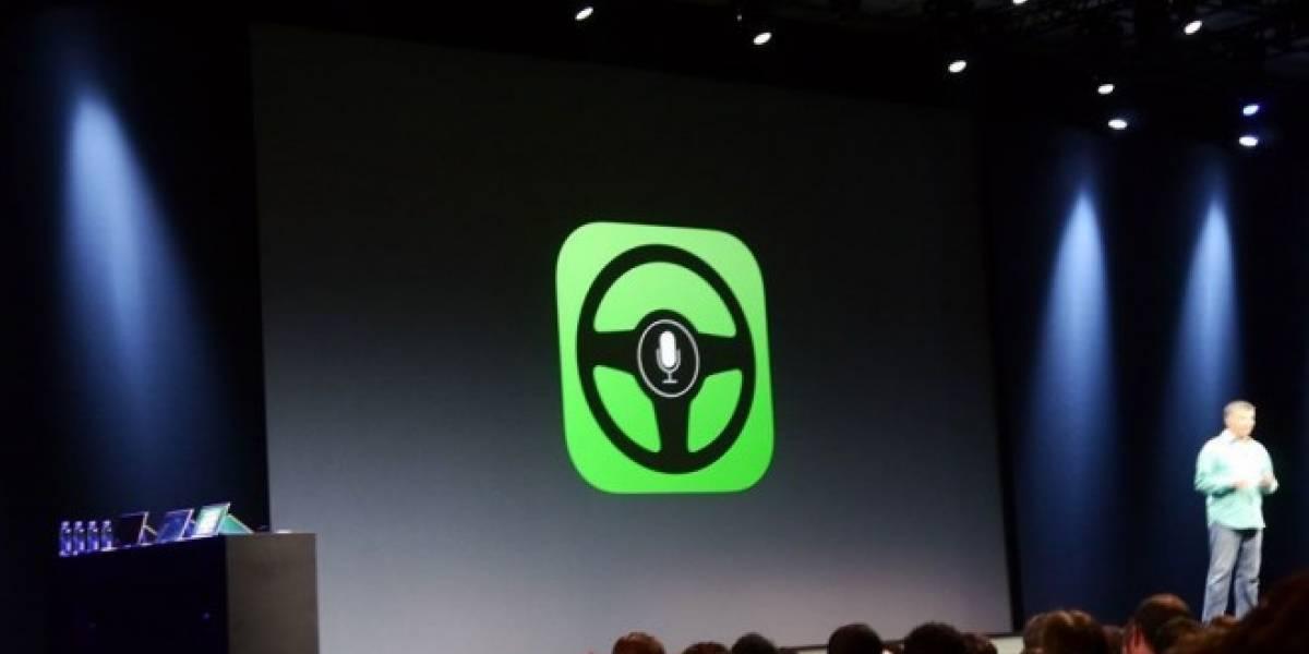 iOS in the Car te permitirá utilizar el teléfono mientras manejas vía Siri #WWDC13