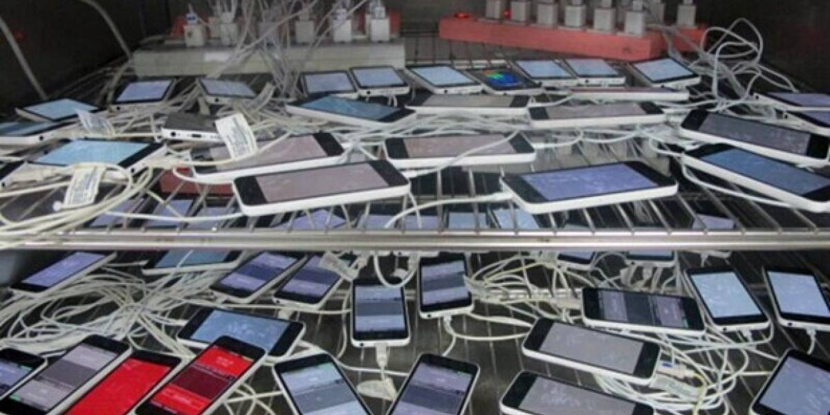 Fotografían una horda de iPhone 5C: ya están listos para ser vendidos