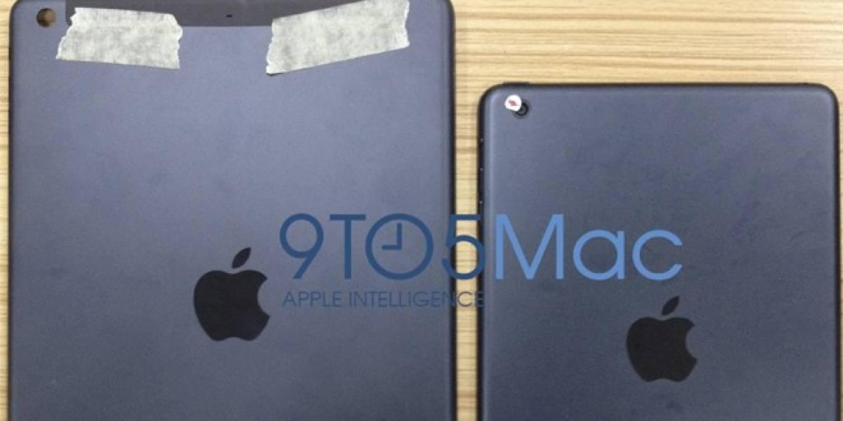 Filtran supuesta imagen de la carcaza posterior del iPad de quinta generación