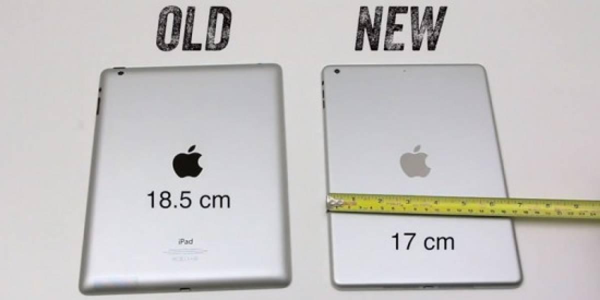 Cuerpo del iPad de próxima generación se deja ver en un video