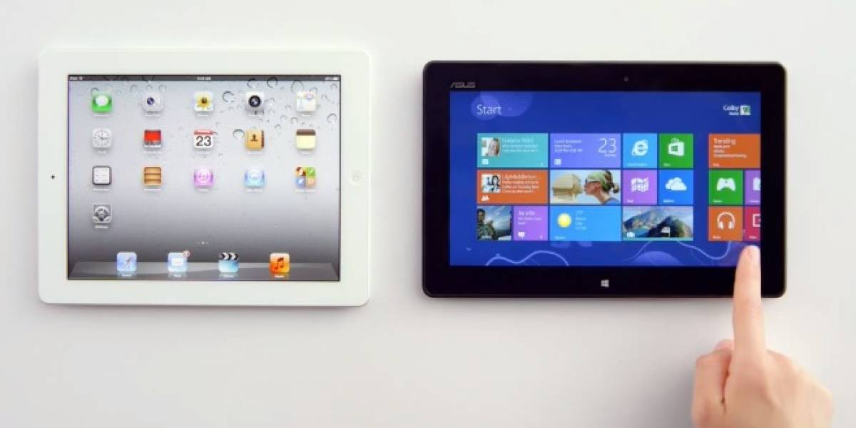 Microsoft usa la voz de Siri para liquidar al iPad en su nuevo comercial