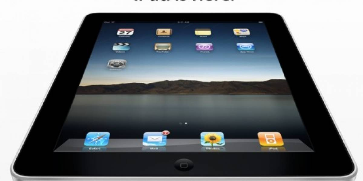 Apple: iPad is here