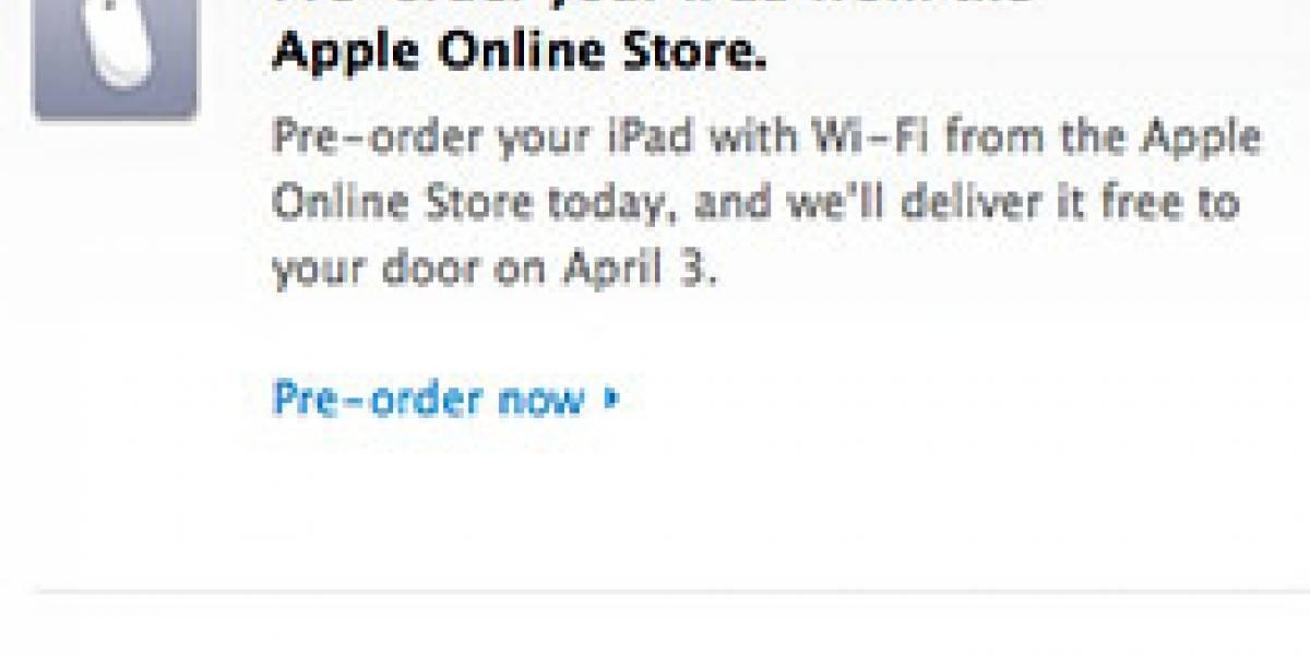 Apple habría vendido más de 90.000 iPads en su primer día