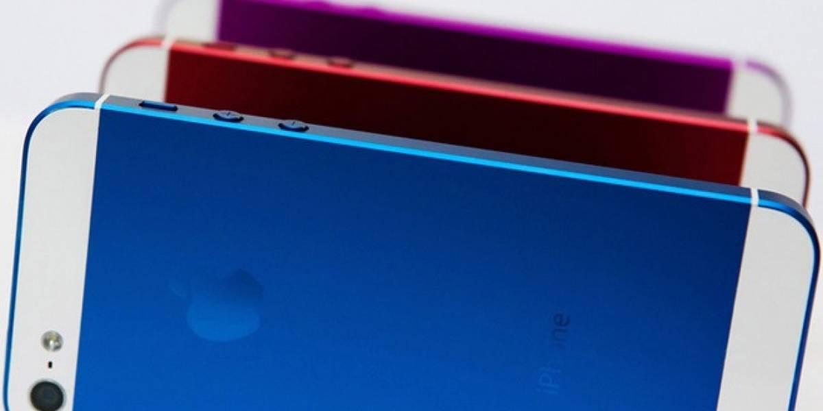 ¿El iPhone de próxima generación vendrá en varios colores?