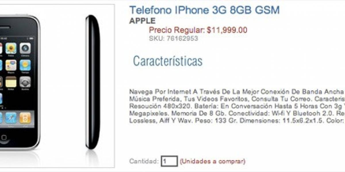iPhone 3G libres en México