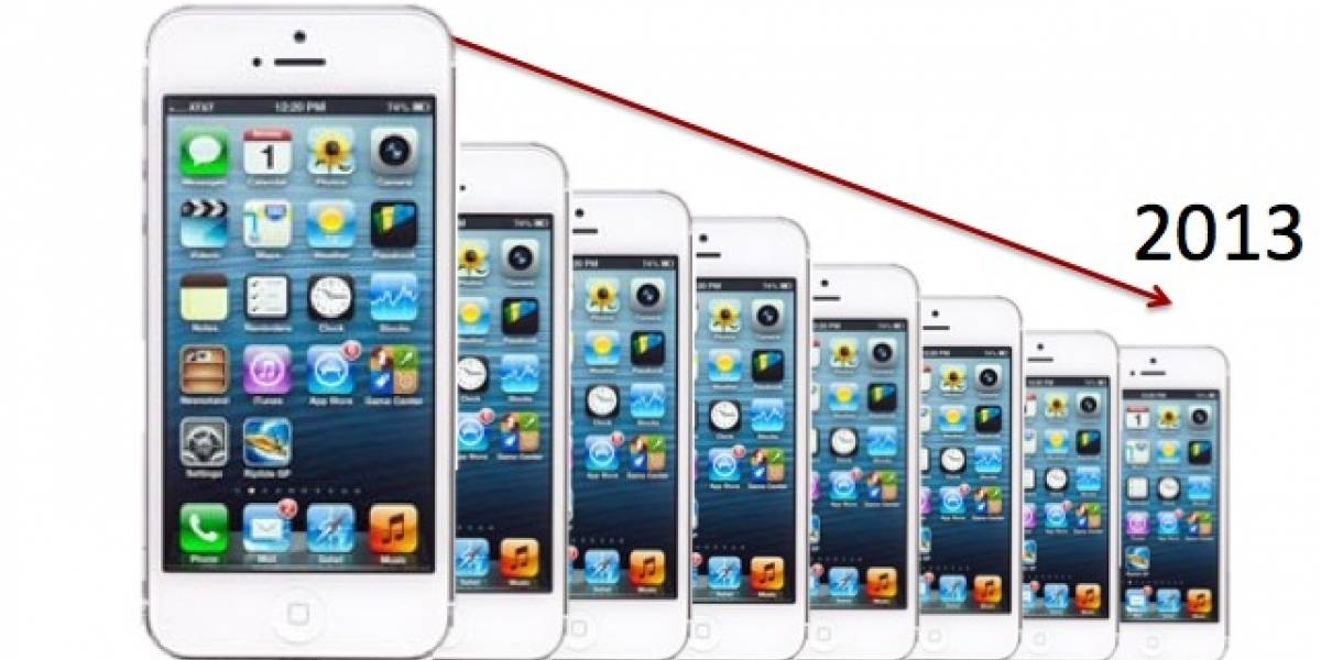 Apple reduciría la producción de iPhone 5 en 2013