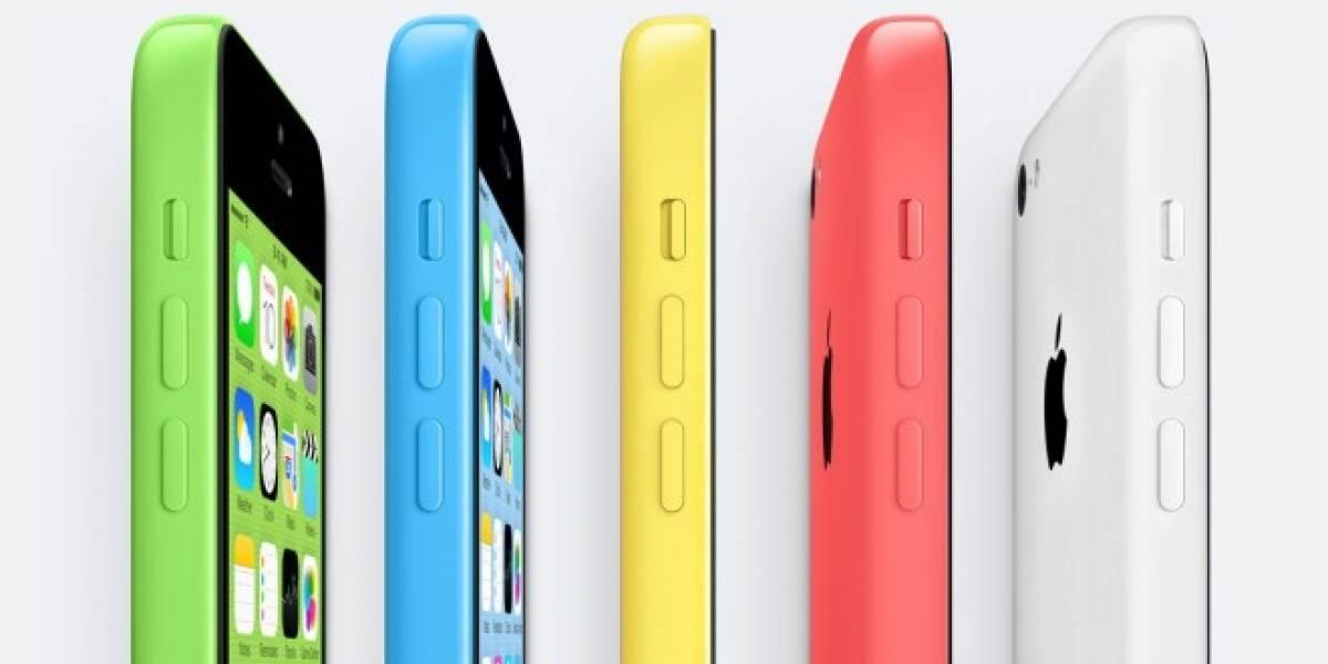Producción de iPhone 5C se reduciría a la mitad por baja demanda