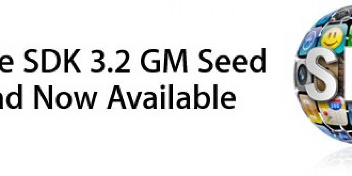 Apple lanza iPhone SDK 3.2 GM