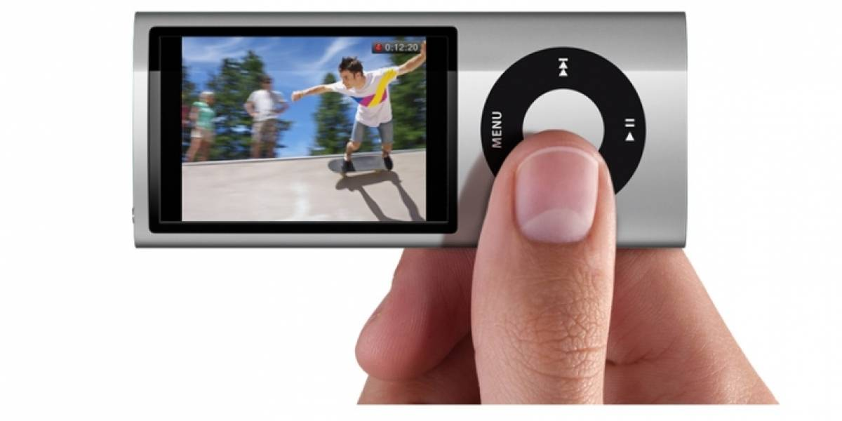 Nuevo iPod nano ahora graba video