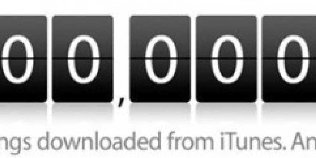 Descargas en iTunes Store alcanzan los 10 billones
