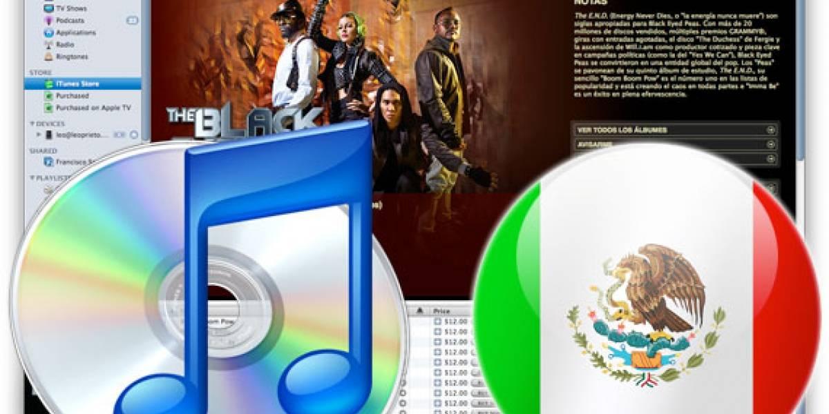 iTunes empieza a vender Música en México
