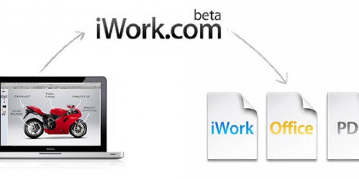 ¿Apple se suma a la batalla en la nube con iWork?